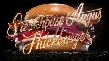 Hardee's Steakhouse Angus Thickburger TV Spot, 'Hunger' - Thumbnail 5