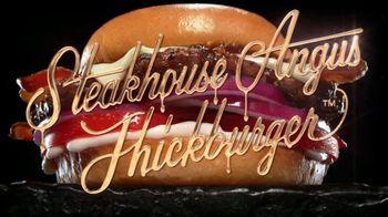Hardee's Steakhouse Angus Thickburger TV Spot, 'Hunger' - Thumbnail 6