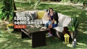 Ashley HomeStore Spring Semi-Annual Sale TV Spot, 'Indoor and Outdoor Furniture' - Thumbnail 2