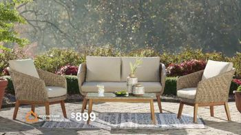 Ashley HomeStore Spring Semi-Annual Sale TV Spot, 'Indoor and Outdoor Furniture' - Thumbnail 6