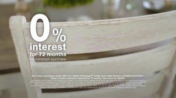 Ashley HomeStore Spring Semi-Annual Sale TV Spot, 'Indoor and Outdoor Furniture' - Thumbnail 8