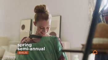 Ashley HomeStore Spring Semi-Annual Sale TV Spot, 'Fresh Styles'
