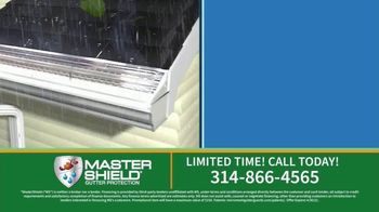 MasterShield Gutter Protection TV Spot, 'Never-Clog Technology: Free Yard Trimmer'