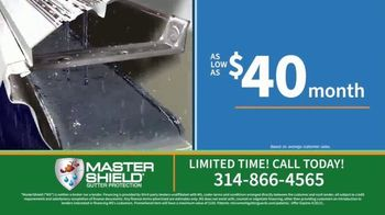 MasterShield Gutter Protection TV Spot, 'Never-Clog Technology: Free Yard Trimmer' - Thumbnail 3