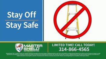 MasterShield Gutter Protection TV Spot, 'Never-Clog Technology: Free Yard Trimmer' - Thumbnail 5