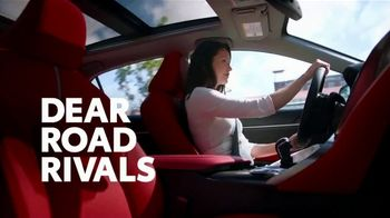Toyota Camry TV Spot, 'Dear Road Rivals: Camry and Safety Features' [T1] - Thumbnail 1