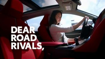 Toyota Camry TV Spot, 'Dear Road Rivals: Camry and Safety Features' [T1] - Thumbnail 2