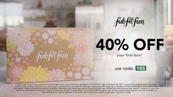 FabFitFun TV Spot, 'No Drama: 40% Off' Featuring Audrina Patridge - Thumbnail 10