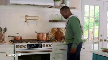 Wayfair TV Spot, 'Make Homemade Taste Better: Earn a $100 Gift Card'