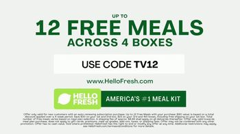 HelloFresh TV Spot, 'Right Time: 12 Free Meals' - Thumbnail 6