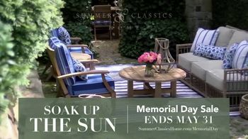 Summer Classics Memorial Day Sale TV Spot, 'Soak Up the Sun' - Thumbnail 3