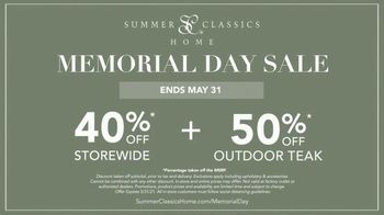 Summer Classics Memorial Day Sale TV Spot, 'Soak Up the Sun' - Thumbnail 6
