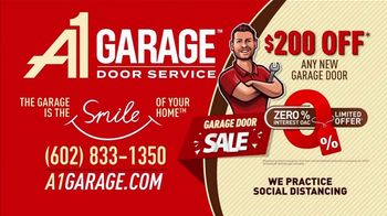 A1 Garage Door Service Garage Door Sale TV Spot, 'Upgrade: $200 Off' - Thumbnail 7