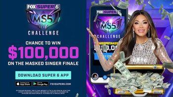 FOX Bet Super 6 TV Spot, 'The Masked Singer: Win $100,000' Featuring Nicole Scherzinger - 34 commercial airings