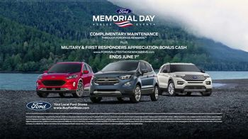 Ford Memorial Day Sales Event TV Spot, 'Limited Time Deals' [T2] - Thumbnail 5