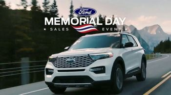 Ford Memorial Day Sales Event TV Spot, 'Limited Time Deals' [T2] - Thumbnail 1