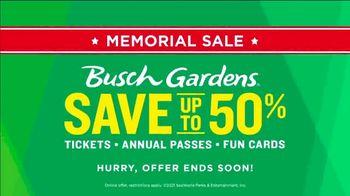 Busch Gardens Memorial Sale TV Spot, 'Save 50%' - Thumbnail 9