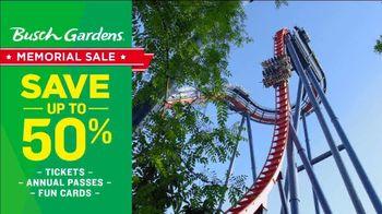 Busch Gardens Memorial Sale TV Spot, 'Save 50%' - Thumbnail 3