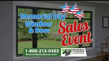 Renewal by Andersen Memorial Day Window and Door Sales Event TV Spot, 'Save an Extra 50%' - Thumbnail 7
