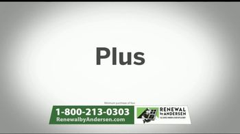 Renewal by Andersen Memorial Day Window and Door Sales Event TV Spot, 'Save an Extra 50%' - Thumbnail 8