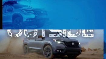 Honda TV Spot, 'Inside and Outside: Adventure Ready' [T2] - Thumbnail 4