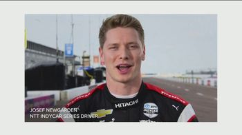 NBC Universal TV Spot, 'Rolling Up My Sleeve' Featuring Josef Newgarden, Jimmie Johnson - 28 commercial airings