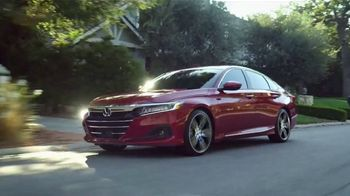 2021 Honda Accord TV Spot, 'In Stock and Available Now: Accord' [T2] - Thumbnail 1
