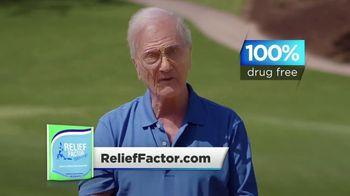 Relief Factor TV Spot, 'Golf' Featuring Pat Boone