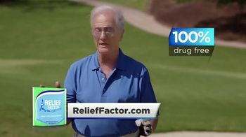 Relief Factor TV Spot, 'Golf' Featuring Pat Boone - Thumbnail 3