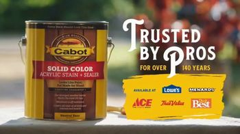 Cabot Wood Stains Solid Color Acrylic Stain + Sealer TV Spot, 'Great Grandfather' - Thumbnail 10