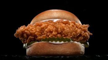 Carl's Jr. Hand-Breaded Chicken Sandwich TV Spot, 'Hot and Juicy'