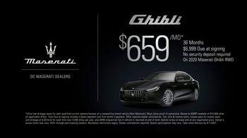2020 Maserati Ghibli TV Spot, 'Behind the Wheel' [T2] - Thumbnail 1