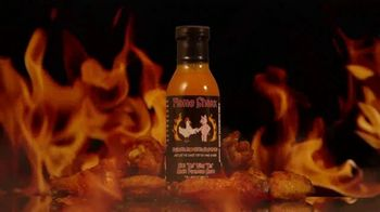 "Flame Shakk ""Kick Em"" Wing Um"" Sauce TV Spot, 'Bring Food to Life' - Thumbnail 2"