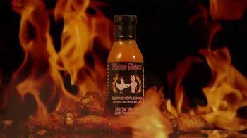 "Flame Shakk ""Kick Em"" Wing Um"" Sauce TV Spot, 'Bring Food to Life' - Thumbnail 3"
