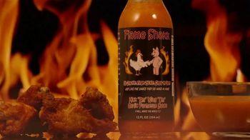 "Flame Shakk ""Kick Em"" Wing Um"" Sauce TV Spot, 'Bring Food to Life' - Thumbnail 7"