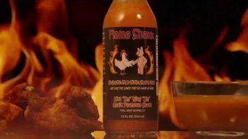 "Flame Shakk ""Kick Em"" Wing Um"" Sauce TV Spot, 'Bring Food to Life' - Thumbnail 8"
