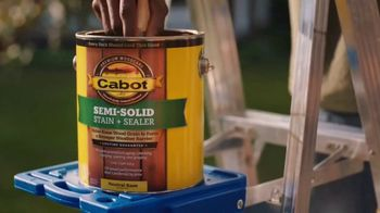 Cabot Wood Stains Semi-Solid Stain + Sealer TV Spot, 'Convertible'