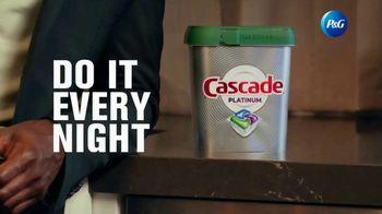 Cascade Platinum TV Spot, 'Cascade & Sterling K. Brown Do It Every Night' - Thumbnail 7