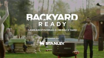 Game & Fish TV Spot, 'Backyard Ready: Stanley Tools' - Thumbnail 10