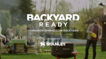 Game & Fish TV Spot, 'Backyard Ready: Stanley Tools' - Thumbnail 6