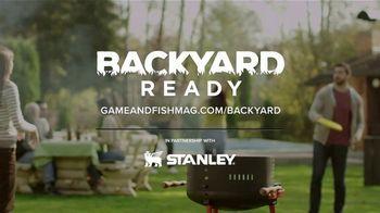 Game & Fish TV Spot, 'Backyard Ready: Stanley Tools' - Thumbnail 7