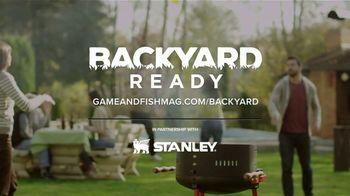 Game & Fish TV Spot, 'Backyard Ready: Stanley Tools' - Thumbnail 9