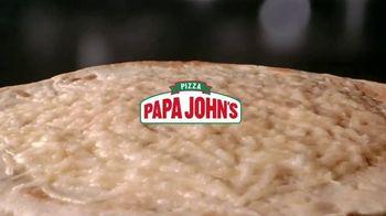 Papa John's Parmesan Crusted Papadia TV Spot, 'Look at That' Song by Jack Harlow - Thumbnail 2
