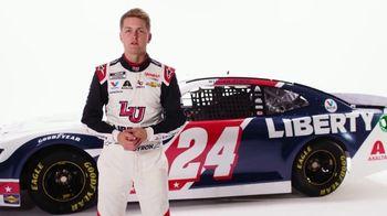 Liberty University TV Spot, 'More Than a Sponsor' Featuring William Byron - Thumbnail 1
