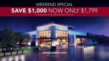 Sleep Number Memorial Day Sale TV Spot, 'Weekend Special: Save $1,000 and Delivery' - Thumbnail 9