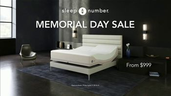 Sleep Number Memorial Day Sale TV Spot, 'Weekend Special: Save $1,000 and Delivery' - Thumbnail 2