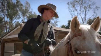 The Good Feet Store TV Spot, 'Cowboy Boots' - Thumbnail 5