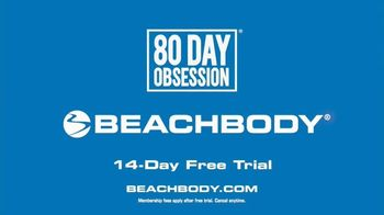 Beachbody 80 Day Obsession TV Spot, 'Get Obsessed' - Thumbnail 8