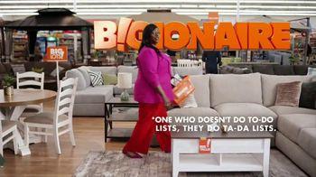 Big Lots Memorial Day Sale TV Spot, 'Bigionaire; Sectional' Featuring Retta - Thumbnail 2