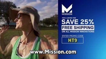 Mission Cooling Hats TV Spot, 'Established Leader in Cooling Technology' - Thumbnail 7